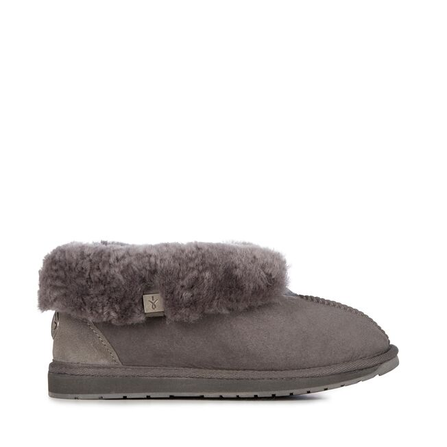 Platinum Albany Slippers | Charcoal