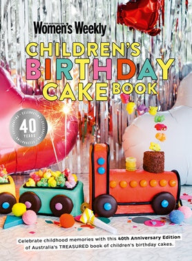 Children's Birthday Cake Book | 40th Anniversary