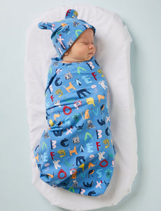 Baby Wrap ABC of Animals Twilight