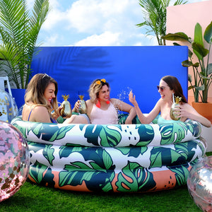 Minnidip Luxe Inflatable Pool | That's Banana(Leave)s!