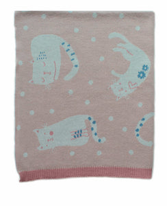 Cats at Play Blanket
