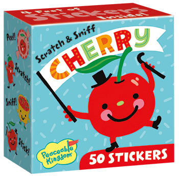 Scratch and Sniff Stickers | Assorted Flavours