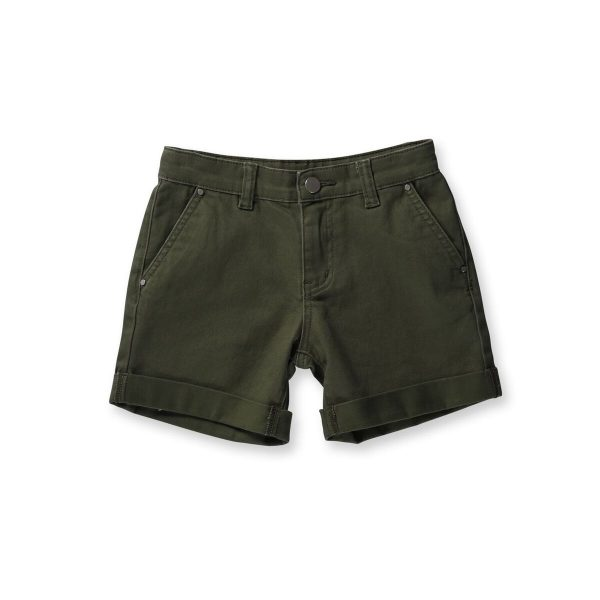 Chino Walk Short Khaki