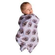 Bamboo Swaddle - Clams