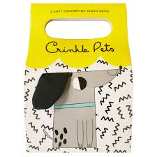 Crinkle Pets Soft Book