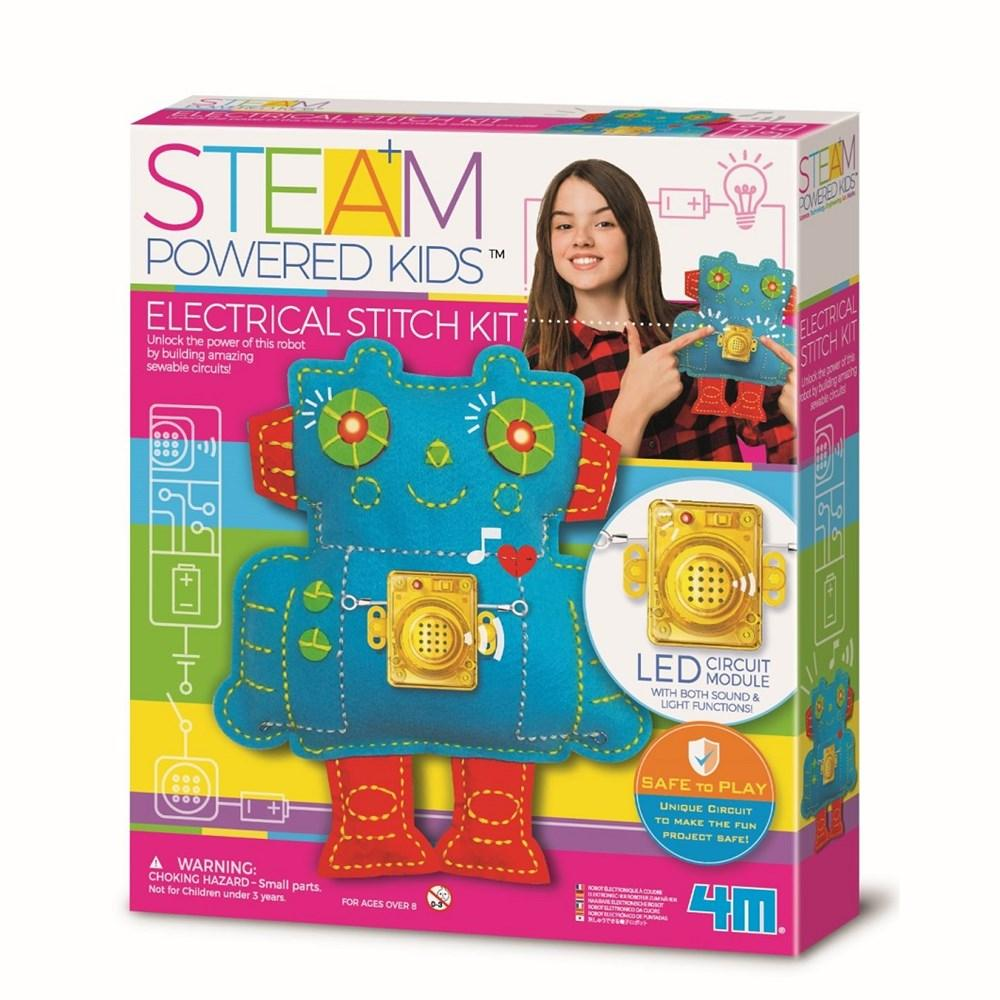 4M STEAM Powered Kits | Electrical Stitch Kit