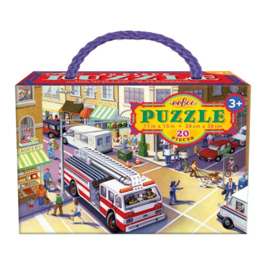 Fire Truck | 20 Pieces