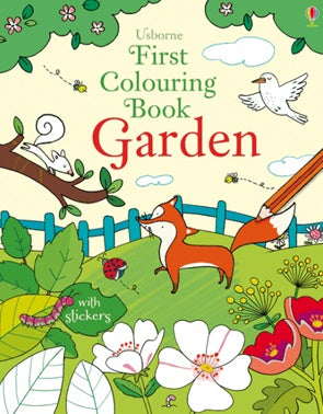 First Colouring Book | Garden
