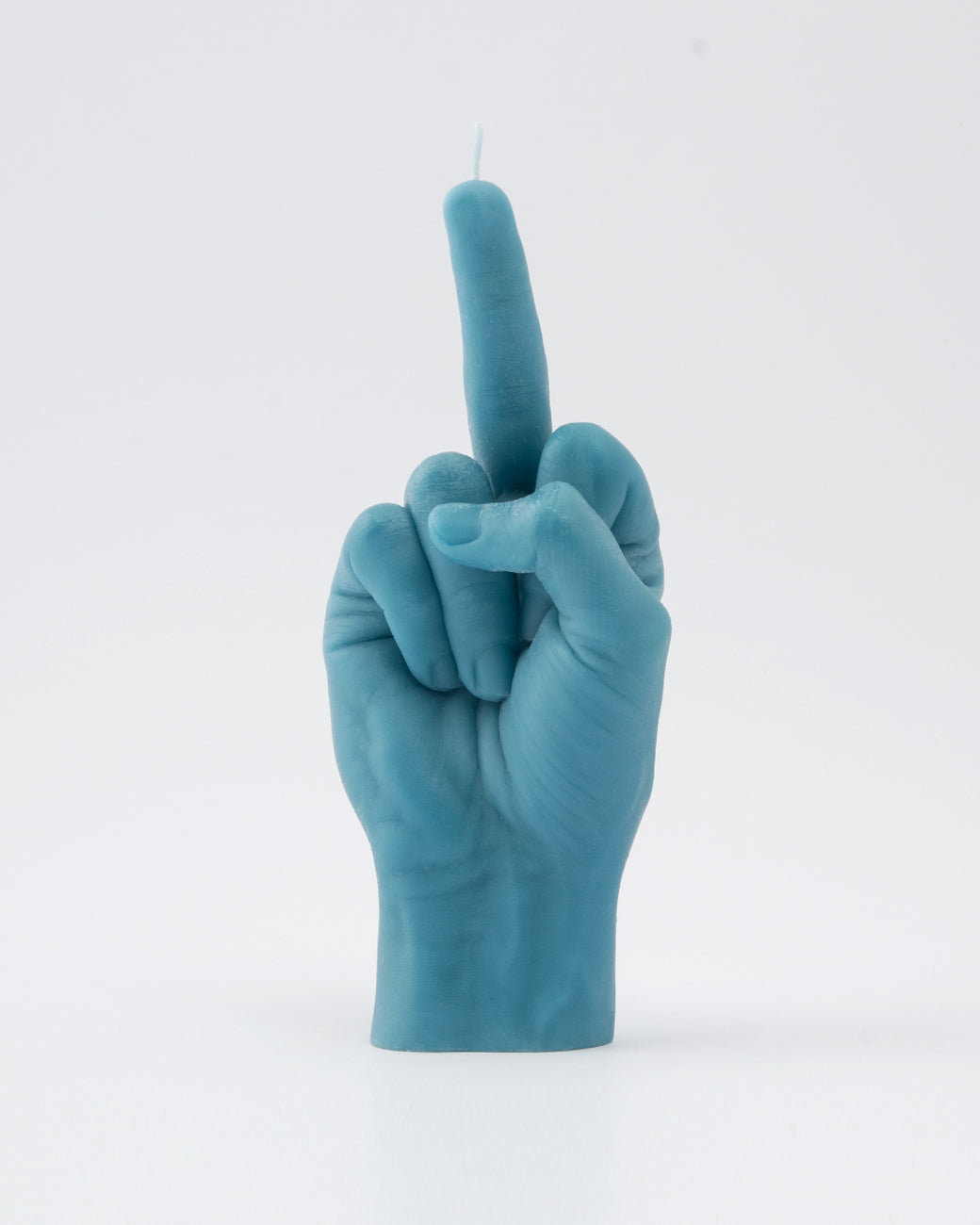 F*ck You Hand Gesture Candle | Blue