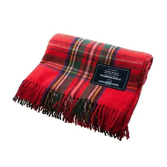 Heritage Collection | Recycled Wool Scottish Tartan Blankets | Traditional