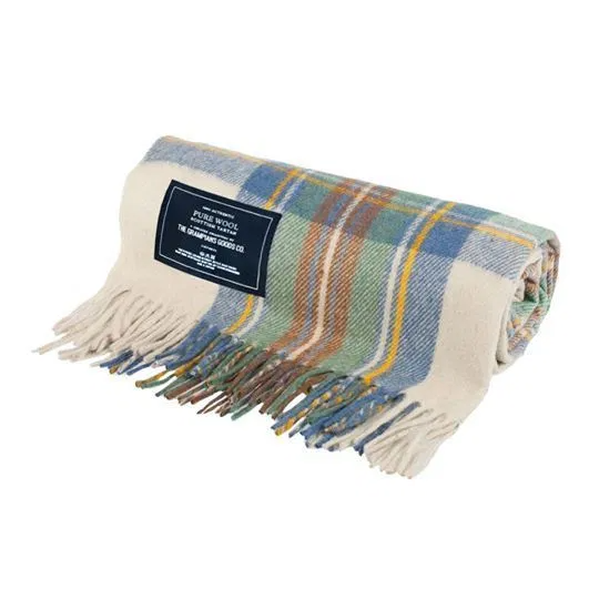 Heritage Collection | Recycled Wool Scottish Tartan Blankets | Spring