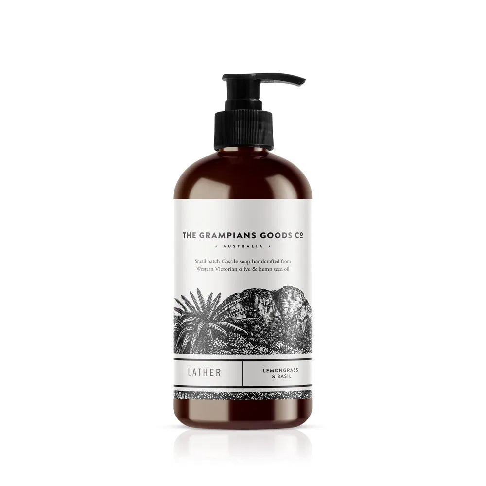 Grampians Grown Luxe Lather | Lemon & Basil