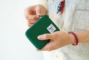 C & S Mini Wallet | Green