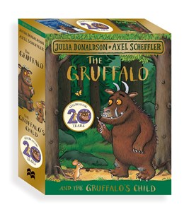 Gruffalo & The Gruffalo's Child Board Book Gift Set