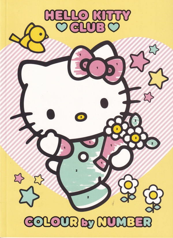 Hello Kitty Club Colour By Numbers