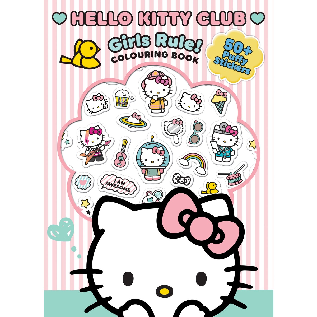 Hello Kitty Club Girls Rule! Colouring Book