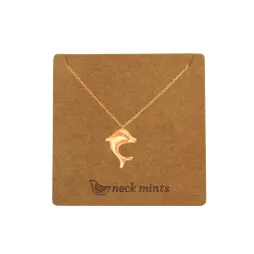 Neckmint | Leaping Dolphin Rose Gold