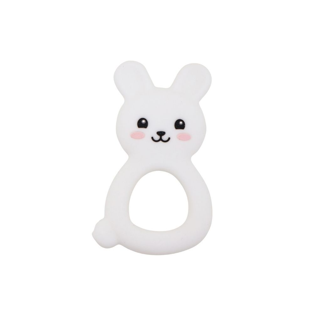 Bunny Teether | White