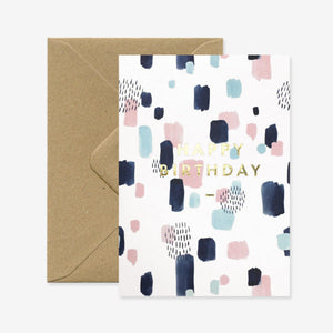 Joy Happy Birthday Card