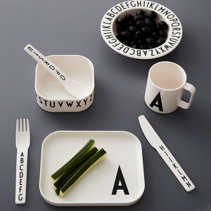 Kids Cutlery Set | Alphabet