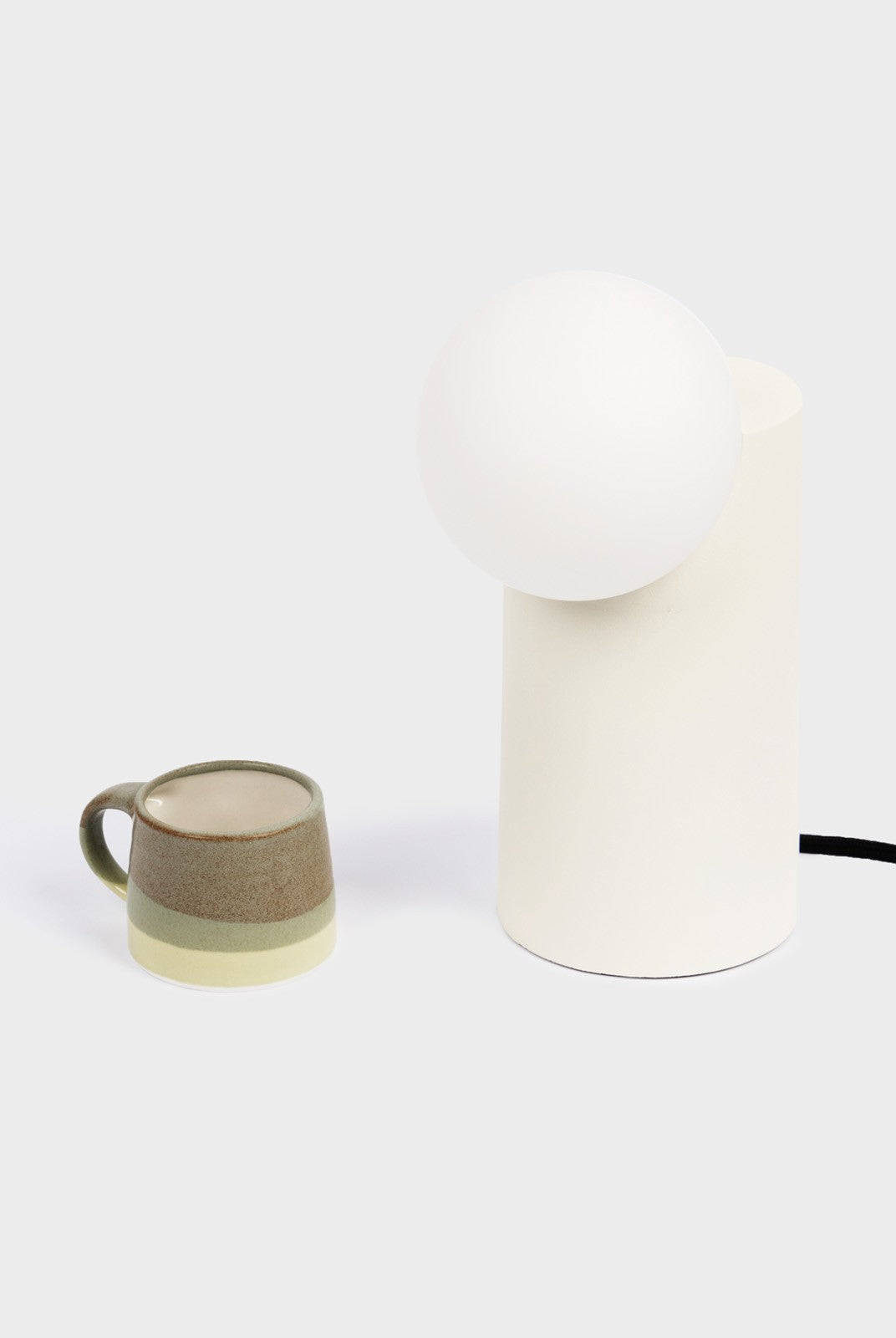 Form Lamp | Cylinder | White