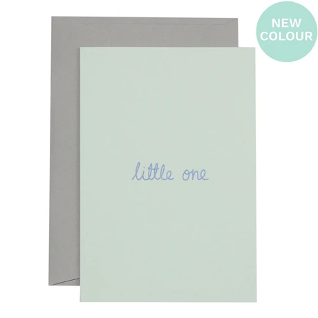 Little One | Lavender on Mint