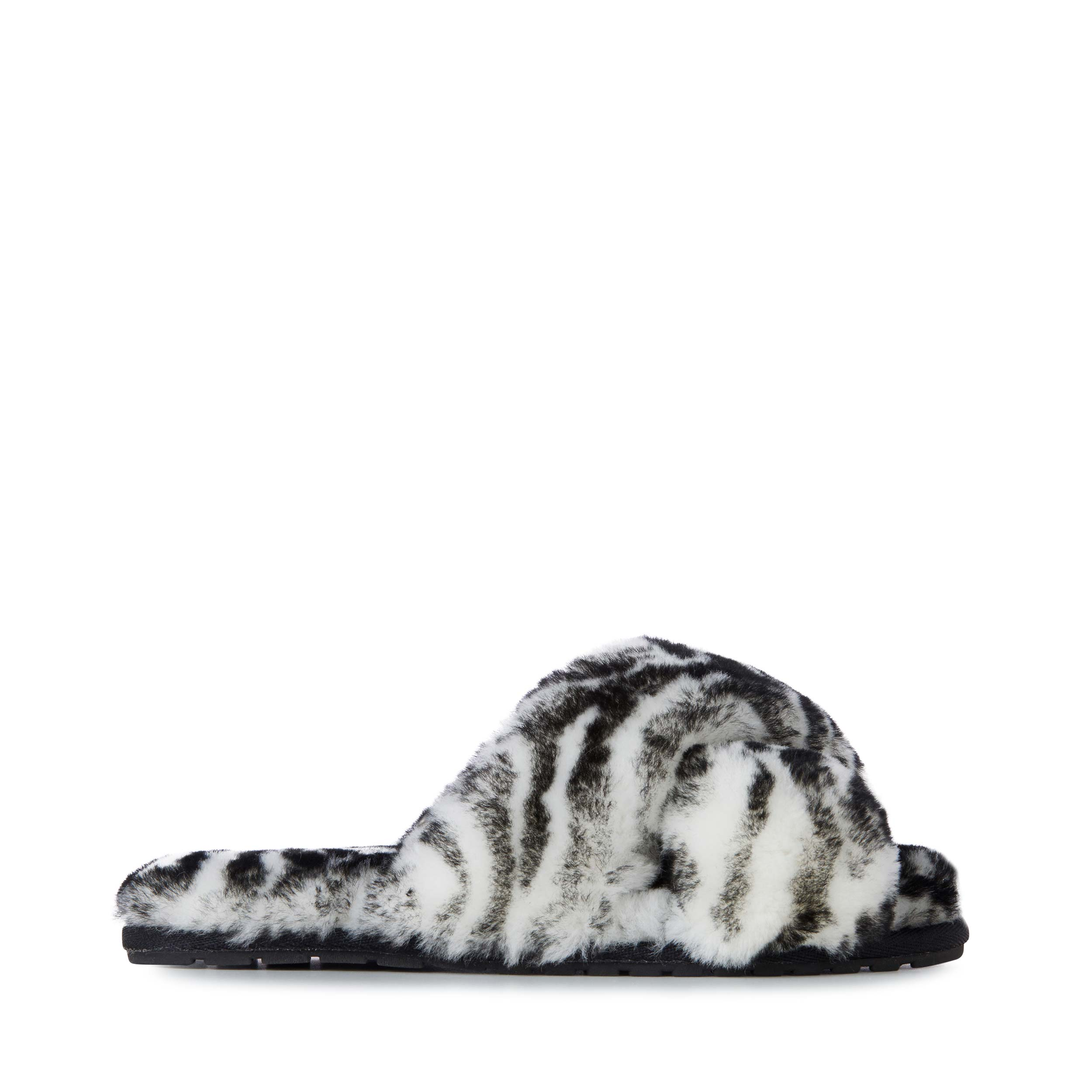 Slippers Mayberry / Animal Black