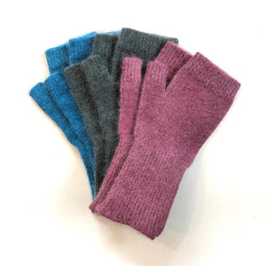 Cuffed Fingerless Gloves, Medium Length (More Colours Avalaible)