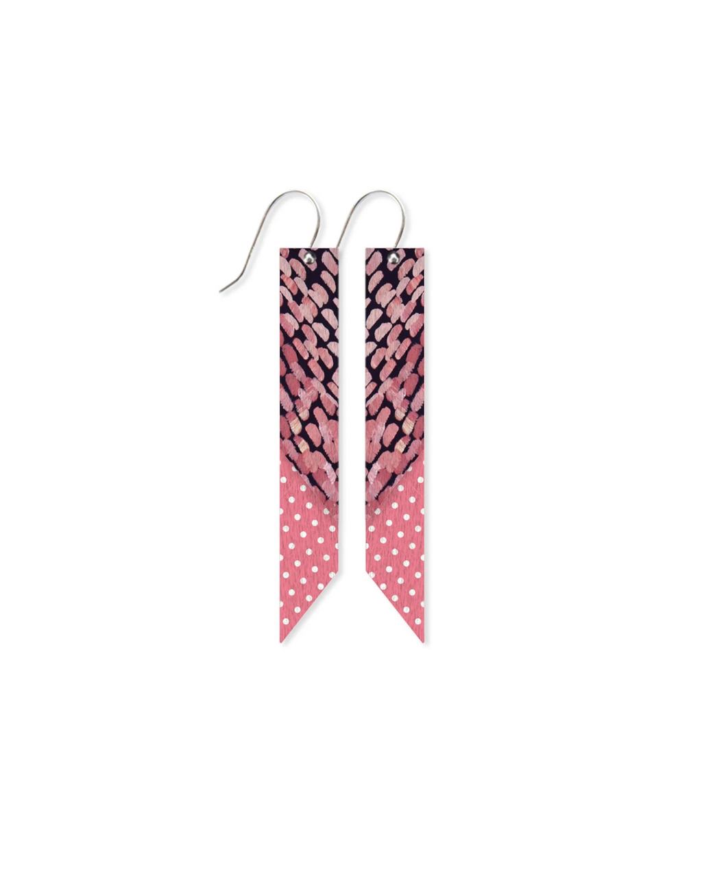 Layered Angled Bar Drop Earrings | Dreaming