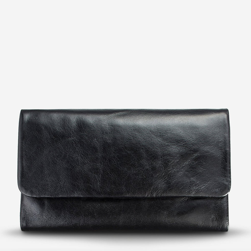 audrey wallet | black