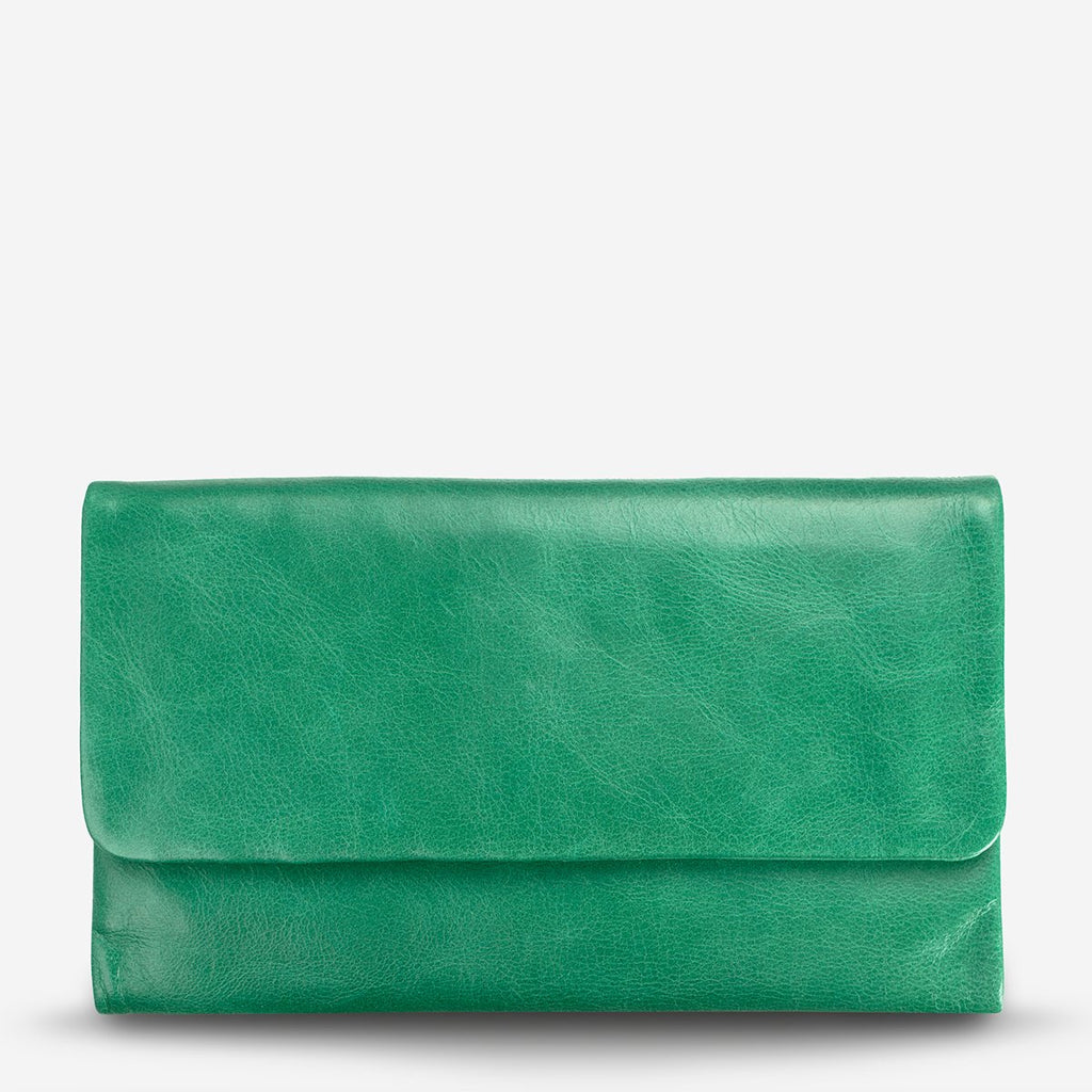 audrey wallet | emerald