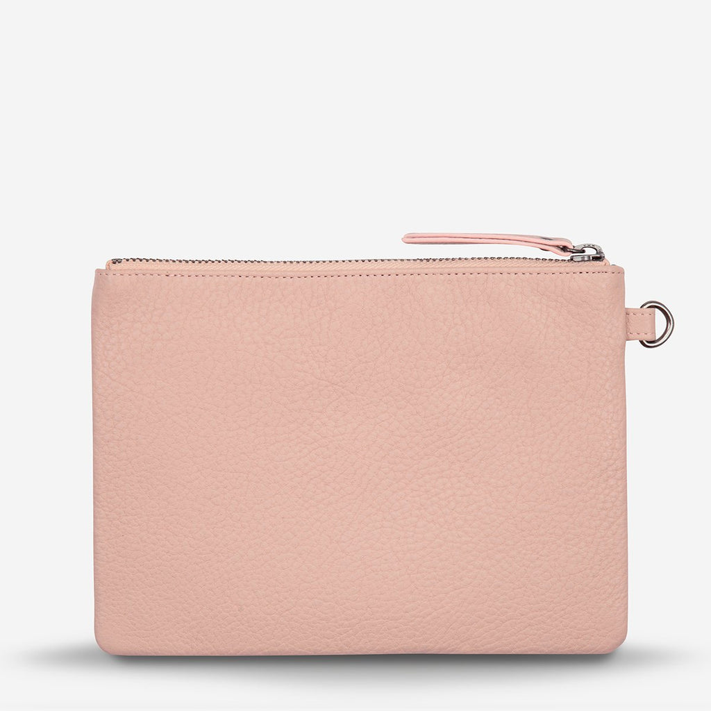fixation clutch | dusty pink