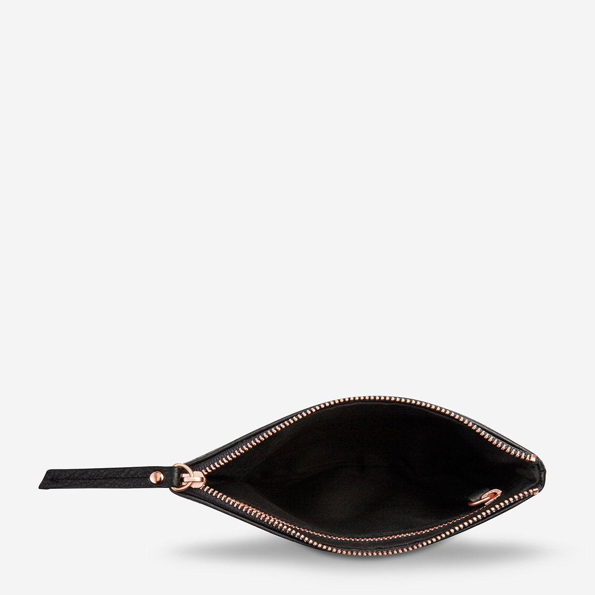 treacherous pouch | black