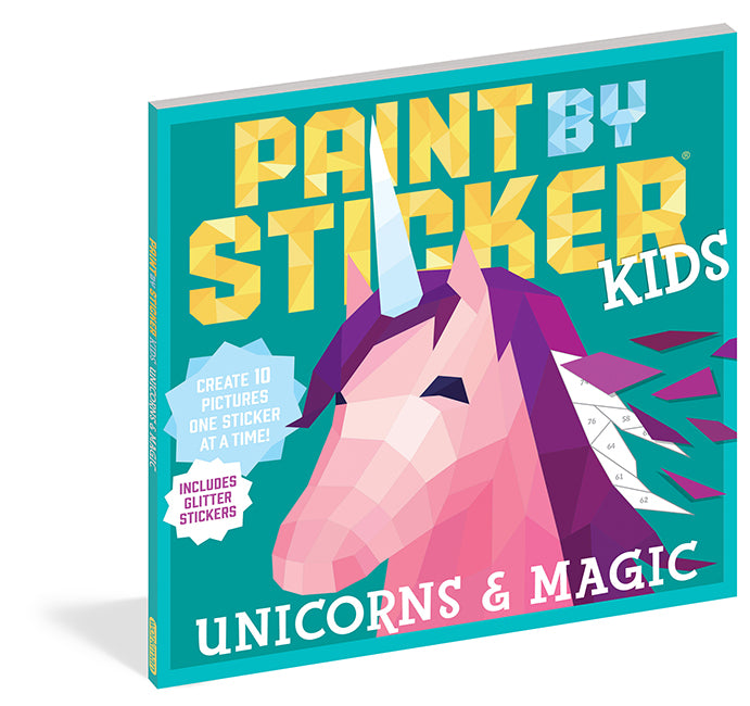Paint By Sticker: Unicorns & Magic