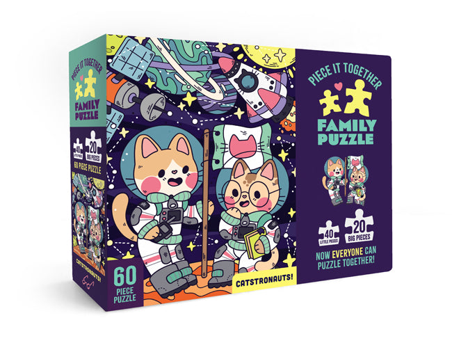 Catstronauts | Piece It Together Family Puzzle