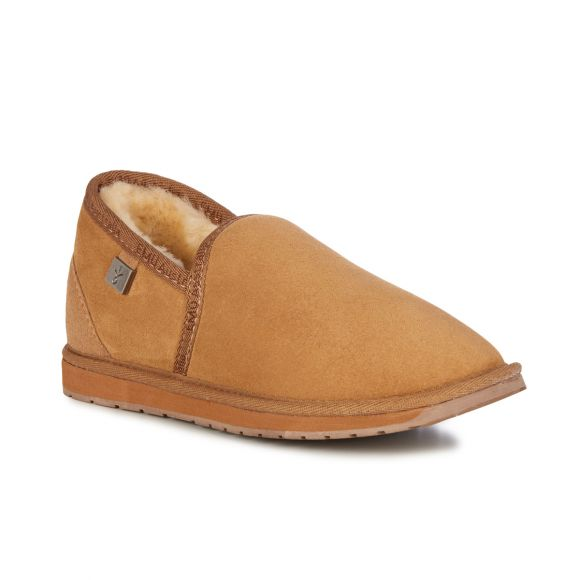 Platinum Ashford Slipper | Chestnut
