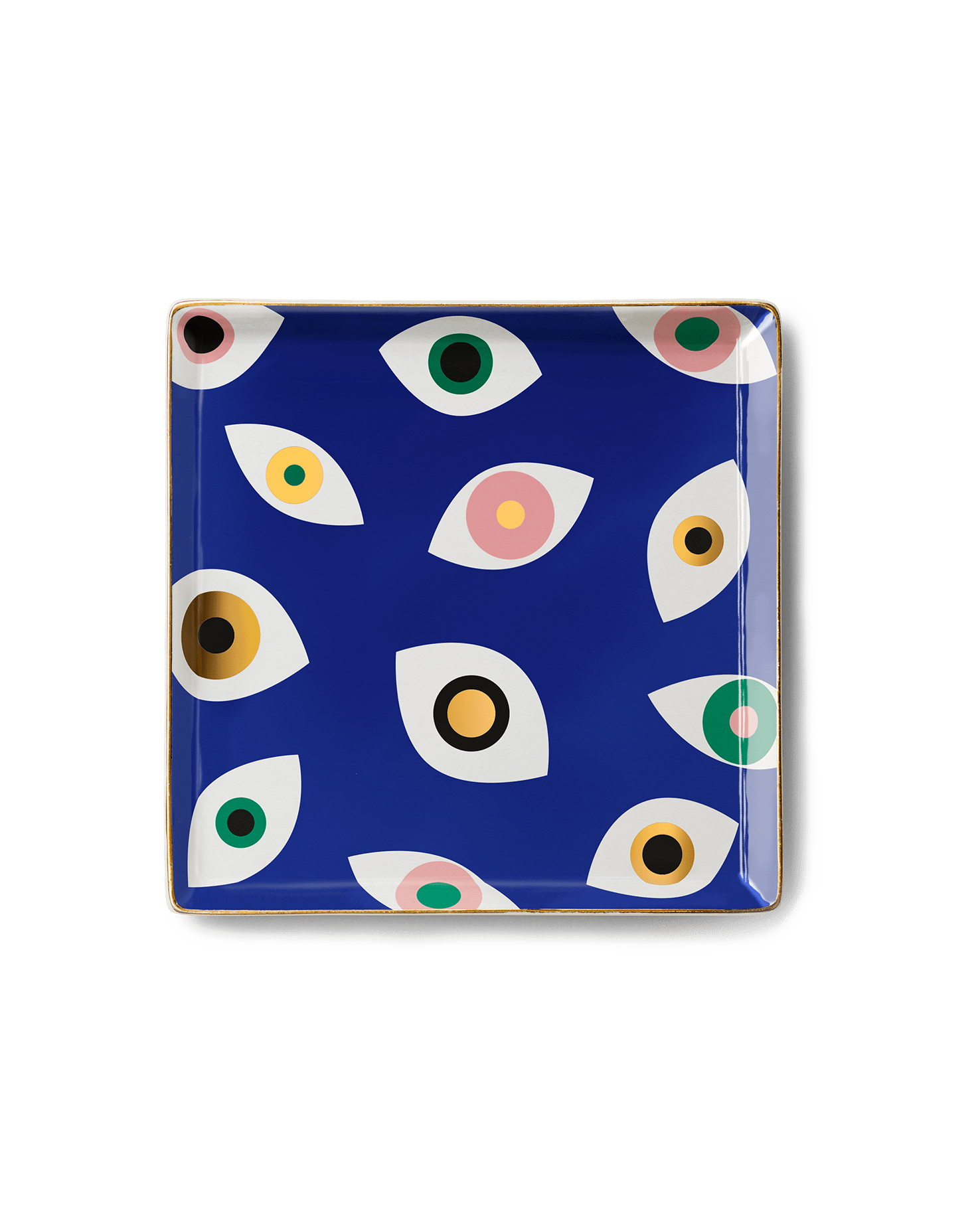 Ceramic Plate | Nazar Blue