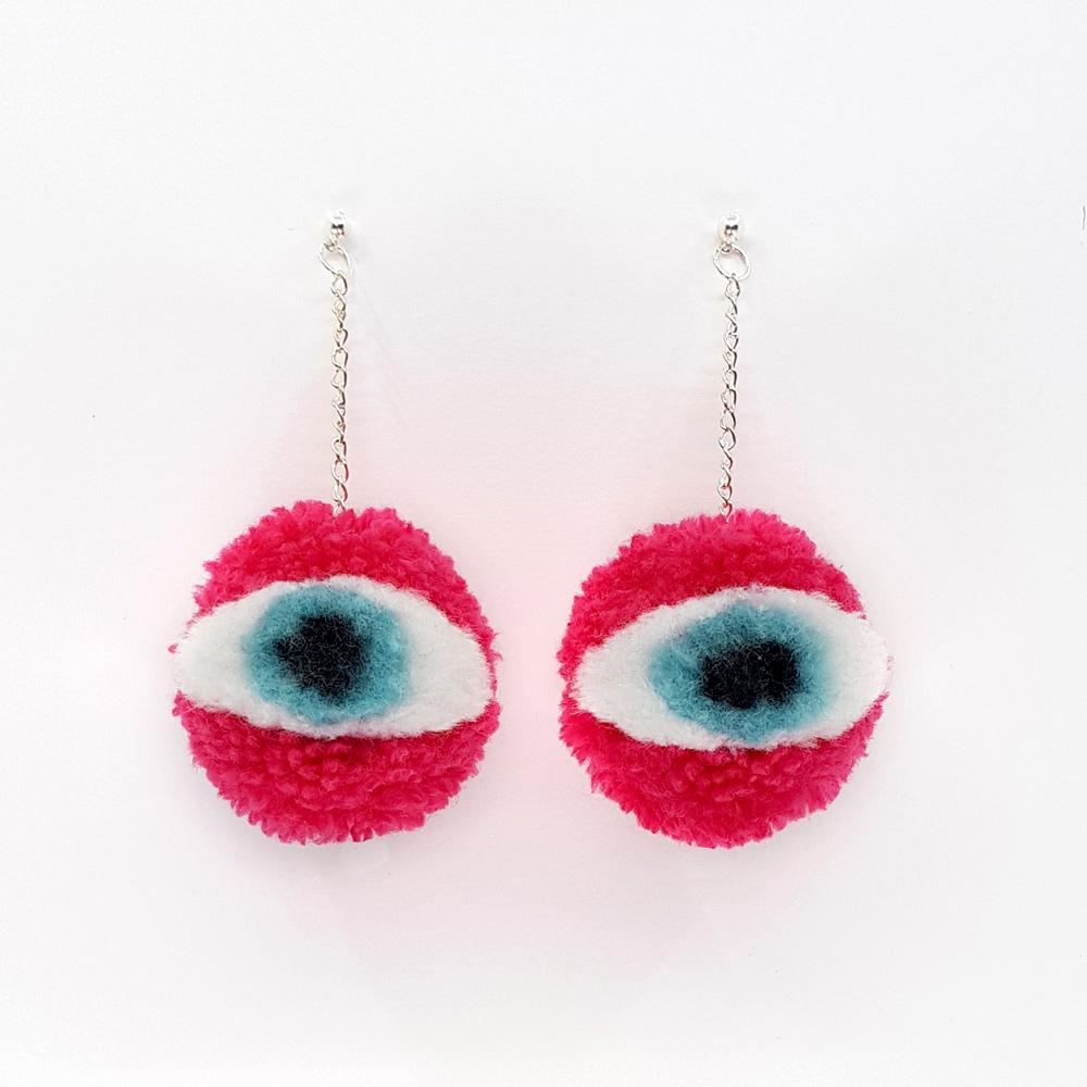 Eyeball Earrings | More Colours Available
