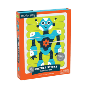 Puzzle Sticks Robot Lab