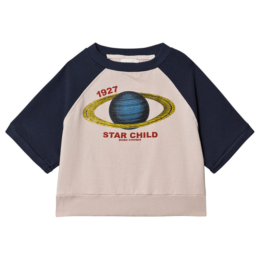 Archigram Saturn Short Sleeve Sweatshirt