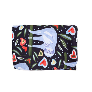 Neoprene Nappy Clutch | Sloth