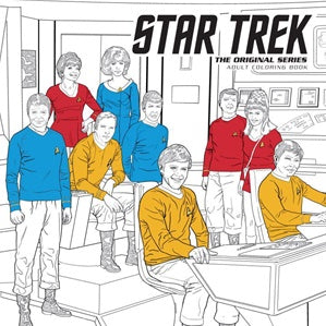 Star Trek The Original Series Adult Coloring Book