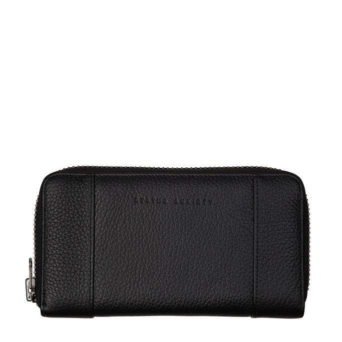 state of flux wallet | black