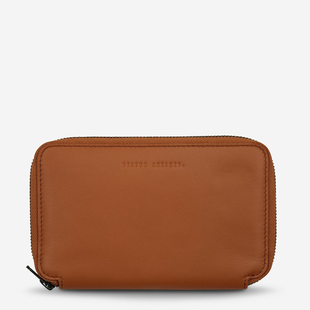 vow travel wallet | tan