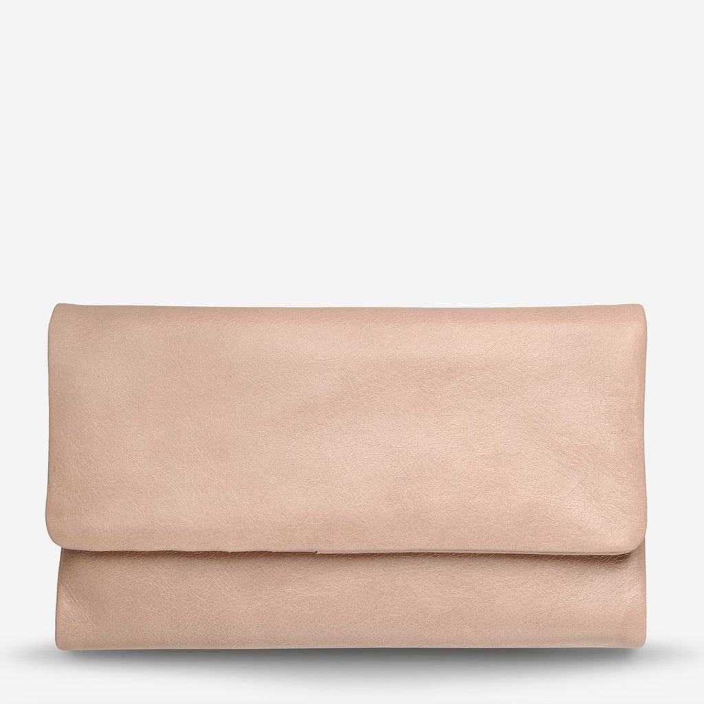 audrey wallet | dusty pink
