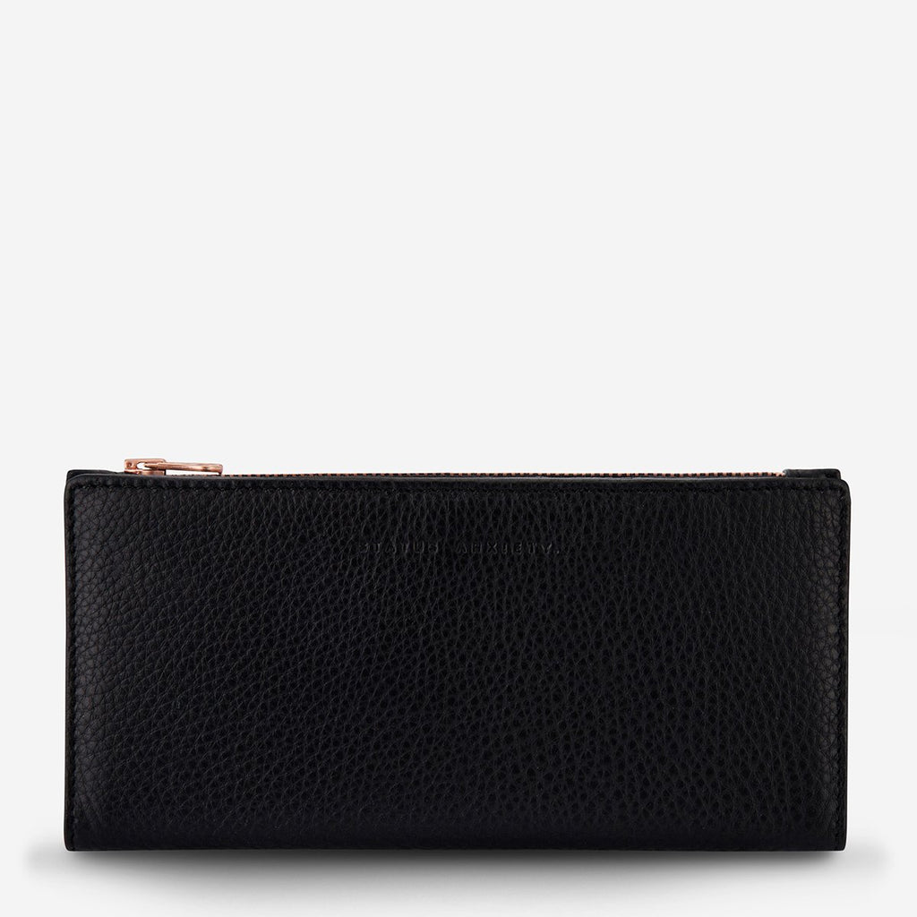in the beginning wallet | black