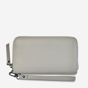 moving on wallet | light grey