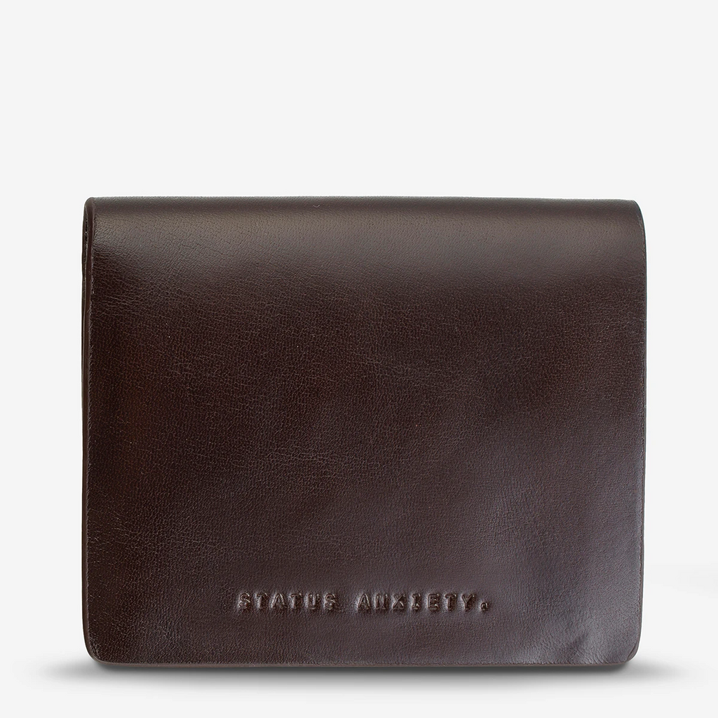 nathaniel wallet | chocolate