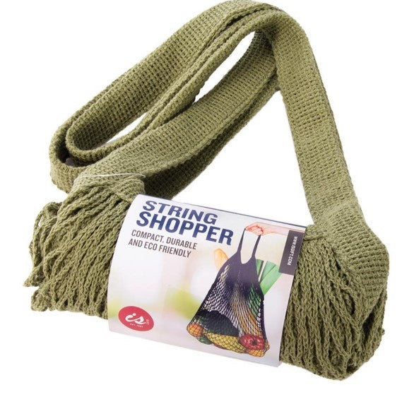 String Shopping Bag | Green