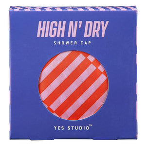 High & Dry Shower Cap - Striped